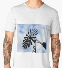 Windmill water tower Men's Premium T-Shirt
