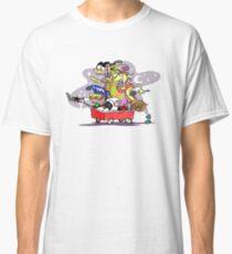 Ed, Edd n' Eddy Squad in Carts Classic T-Shirt