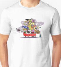 Ed, Edd n' Eddy Squad in Carts T-Shirt