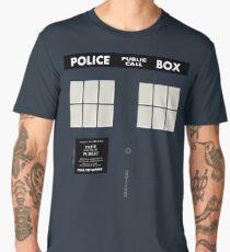 New Tardis Door Men's Premium T-Shirt