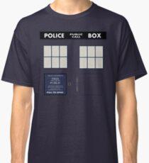 Classic Tardis Door Classic T-Shirt