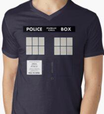 New Who Men's V-Neck T-Shirt