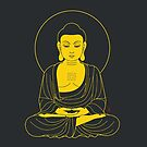 Golden Buddha Lines by 73553