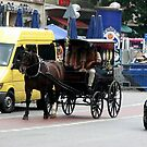 horse carriage in Munich, Germany by chord0