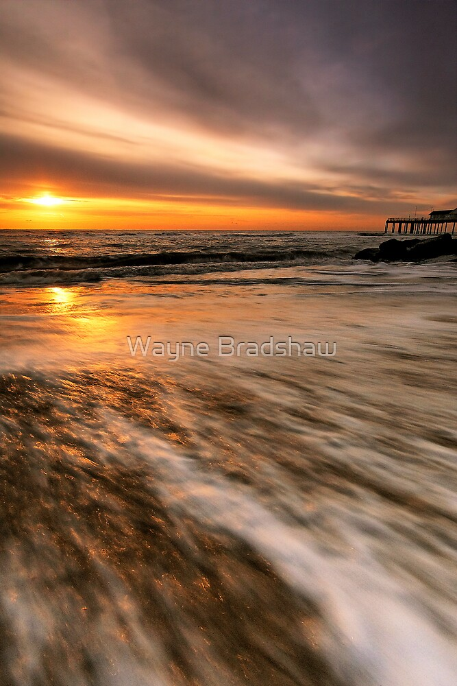 Southwold Beach Suffolk 10. by Wayne Bradshaw