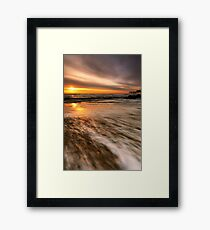 Southwold Beach Suffolk 10. Framed Print