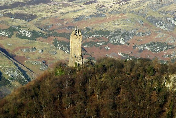 The Wallace Monument by Kevin Meldrum
