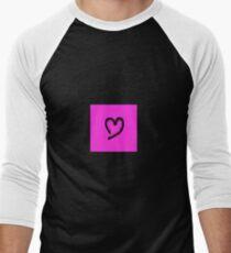 Black glitter heart T-Shirt