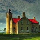 Old Mackinac Point Lighthouse by LizzieMorrison