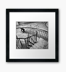 Bresson Cartier Bicycle Framed Print