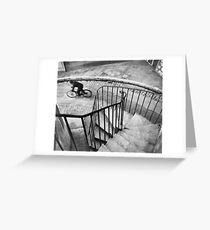 Bresson Cartier Bicycle Greeting Card