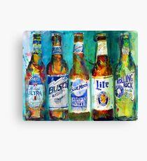 Favorite Beer Combo Canvas Print