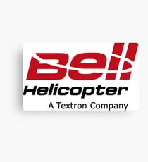 Bell Helicopter Merchandise Canvas Print
