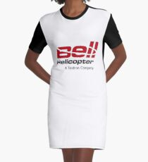 Bell Helicopter Merchandise Graphic T-Shirt Dress