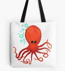 Cute Little Octopus Oceam Friend Tote Bag