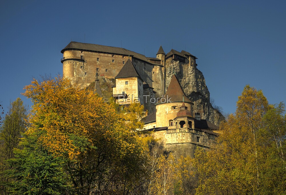 The Orava Castle by Béla Török