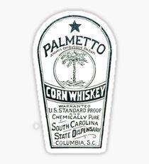 South Carolina Dispensary Whiskey Label Sticker
