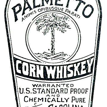 South Carolina Dispensary Whiskey Label by mkkessel