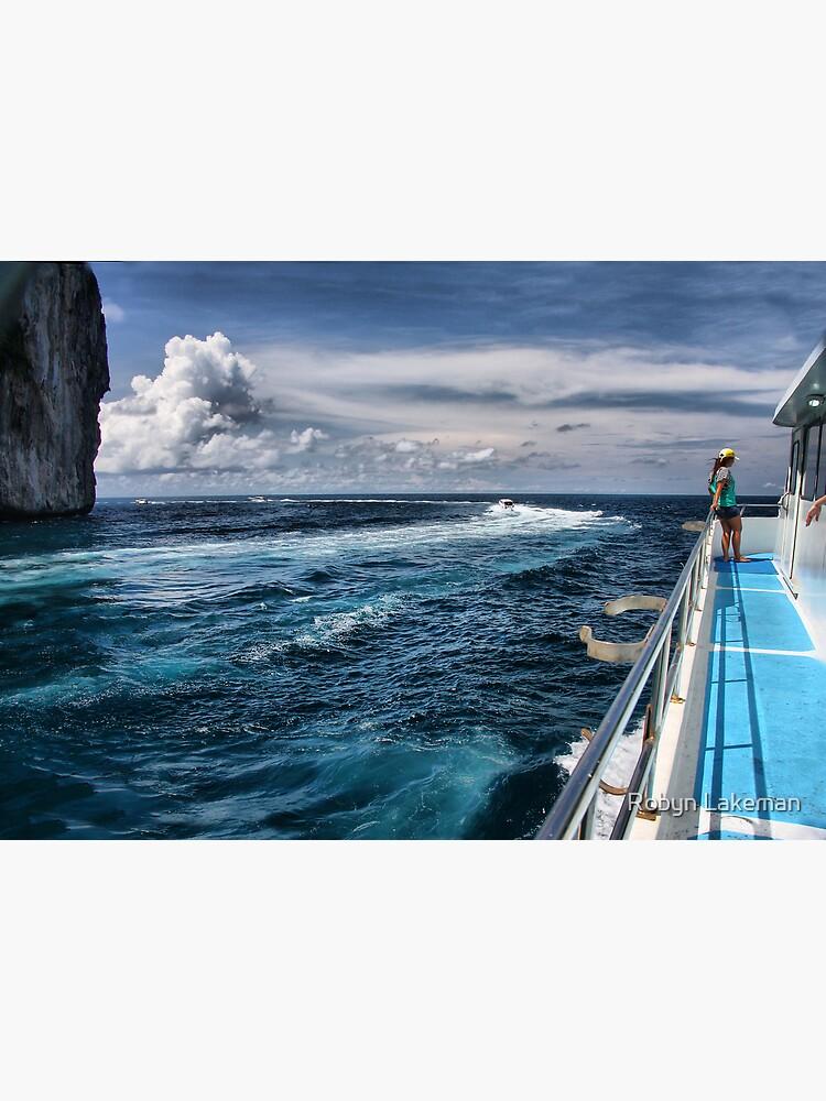 Leaving Monkey Island by Rivergirl