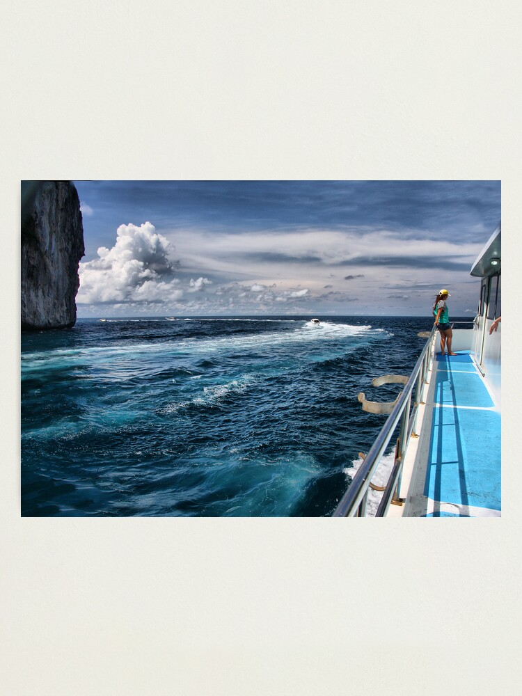 Alternate view of Leaving Monkey Island Photographic Print