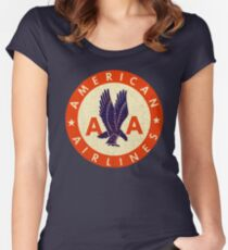 American Airlines USA Women's Fitted Scoop T-Shirt