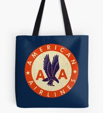 Vintage Airlines USA Tote Bag