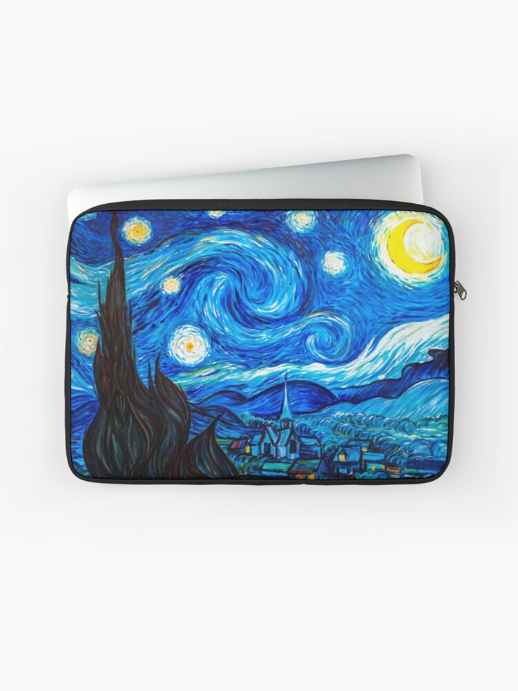 separation shoes 88035 03242 Starry Night Leggings and Gifts - Vincent Van Gogh Painting | Laptop Sleeve
