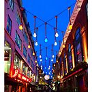Christmas Lights London 1 by Flo Smith