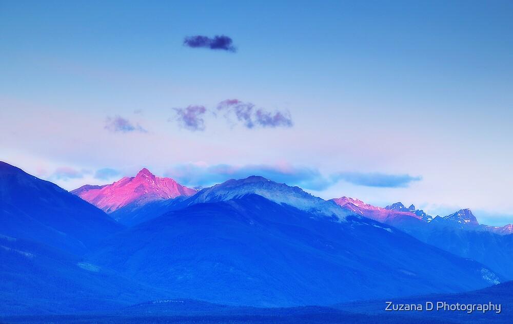 Rocky Mountains Sunrise by Zuzana D Photography