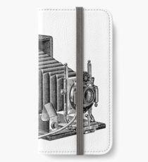 Seroco Folding Camera - 1907 Model iPhone Wallet/Case/Skin