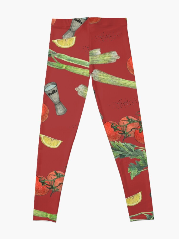 Alternate view of bloody mary recipe Leggings