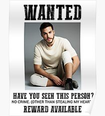 wanted: chris wood Poster