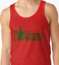 0181 I Love Alabama Tank Top