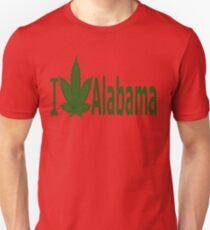 0181 I Love Alabama Unisex T-Shirt