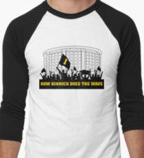 How Kinnick Does The Wave Dance Marathon Fundraiser Men's Baseball ¾ T-Shirt