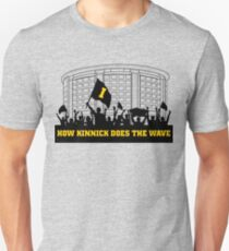 How Kinnick Does The Wave Unisex T-Shirt
