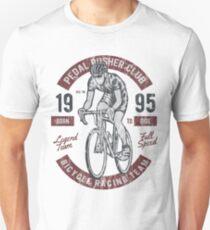 BICYCLE RACER - Vintage Bike Biker Cyclist and Bike Shirt Unisex T-Shirt