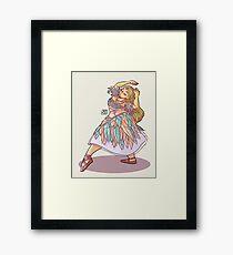 Barbie of Swan Lake Framed Print