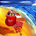 Santa On the Go by WhiteDove Studio kj gordon