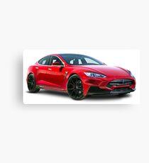 Tesla Motors Canvas Print