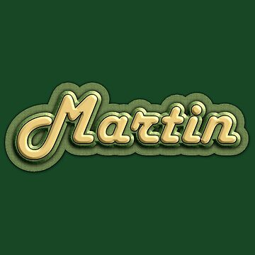Vintage Martin  by Dardman