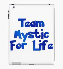 Pokemon Go - Team Mystic For Life iPad Case/Skin