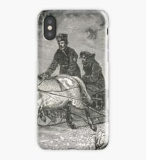 Russian Sledge delivering post in snow iPhone Case/Skin