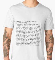 Korg Thor: Ragnarok Men's Premium T-Shirt