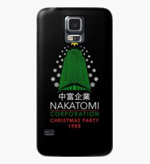 Nakatomi Corporation Christmas Party Snowflake Tower Case/Skin for Samsung Galaxy