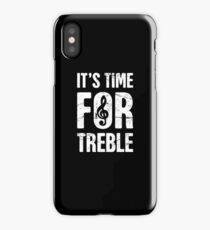 A Cappella – It's Time For Treble iPhone Case/Skin