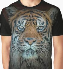 Tiger, Tiger Burning Bright Graphic T-Shirt