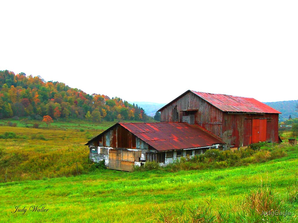 Just Another Barn by Judy Gayle Waller