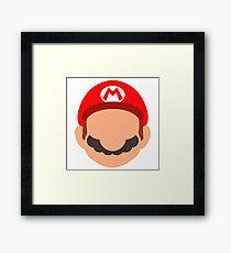 Mario Icon Framed Print