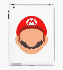 Mario Icon iPad Case/Skin